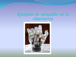 Ejemplos de aplicación en la cibernetica - kiQuenrique