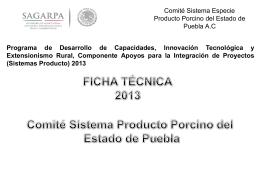 Puebla - Sistema Porcinos