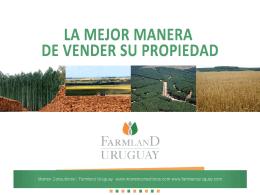 Mas información - Farmland Uruguay