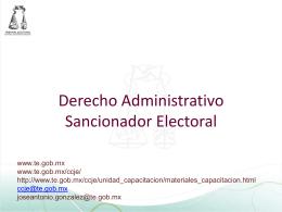 X - Tribunal Estatal Electoral