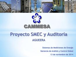 SMEC 1- Proyecto de Medición -Auditorías