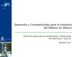 mexican institute of innovation & technology in plastics and rubber