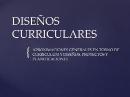 DISEÑOS CURRICULARES - Instituto Cielo Azul