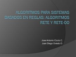 Algoritmos RETE y RE..