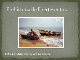 Prehistoria de Fuerteventura