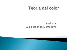 Teoría del color - Informaticaluisfernando