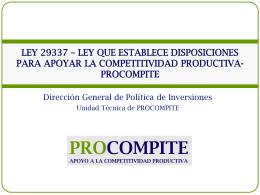 15.20 CARLOS MOINA Presentacion de Ley del PROCOMPITE