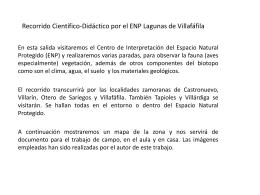 Recorrido Científico-Didáctico por el ENP Lagunas de Villafáfila