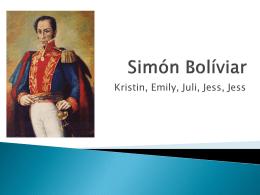 Simon Boliviar - adigirolamospanish