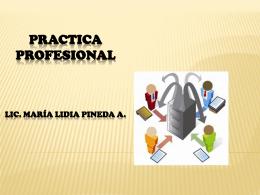 Repaso de Practica Profesional