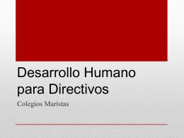 01 Desarrollo Humano para Directivos Encuadre