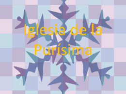 IGLESIA DE LA PURÍSIMA (Paula Casado)