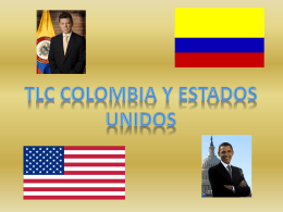 Tlc colombia y estados unidos