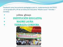 proyecto yolima