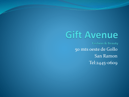 Gift Avenue Fashion & Beauty