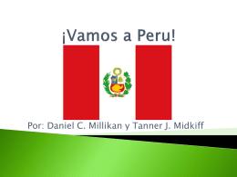 ¡Vamos a Peru!