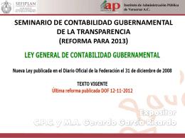 publicación - H. Congreso del Estado de Veracruz