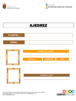 plantel - Coordinación Zona Altos