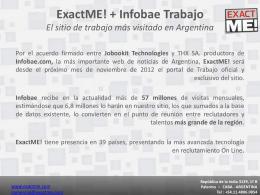 ExactME! - Trabajo En Argentina