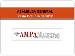 Curso 2010 * 2011 - AMPA Maristas Vigo