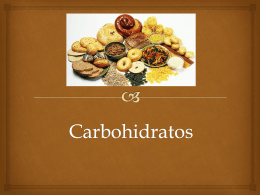 Carbohidratos - chef alfredo villalba