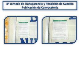 7ma. Jornada de Transparencia y Rendición de Cuentas
