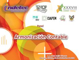 Panel Armonización Contable