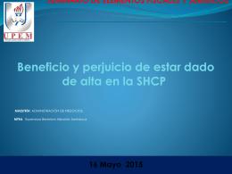 Alta SHCP (1668782) - Tema: Contable
