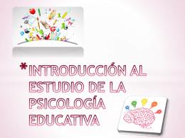 diana introducción al estudio de la psicología educativa
