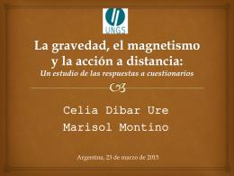La gravedad, el magnetismo y la acción a distancia: un estudio de