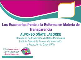 mtro_onate - Instituto de Acceso a la Información Pública y