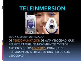 es un sistema avanzado de telecomunicación de alta velocidad, que