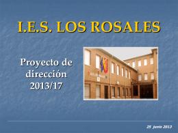 Proyecto de dirección IES LOS ROSALES