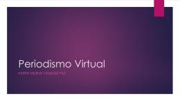 Periodismo Virtual