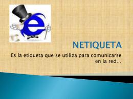 NETIQUETA - propuetastic