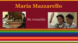 María Mazzarello - Pastoral Vocacional