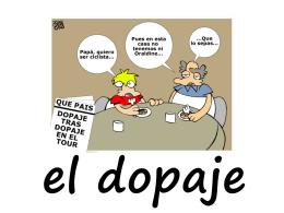 C ¿Cuáles son las causas de la existencia del dopaje?.