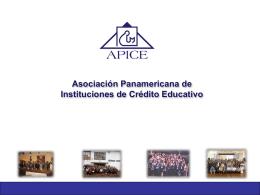 Asociación Panamericana de Crédito Educativo - APICE