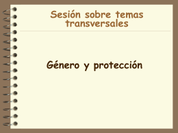 Protección - Food Security Clusters