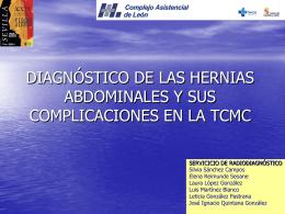 diagnóstico de las hernias abdominales y sus complicaciones en la