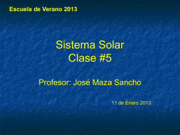 Clase # 5 (2013)