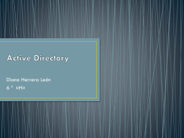 Active Directory blog.