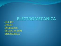 ELECTROMECANICA - fundamentos-investigacion-elec