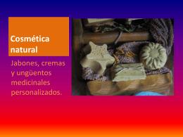 Catálogo cosmética natural