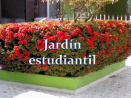 JARDIN ESTUDIANTIL