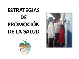 07 Estrategias de Promoción de la Salud