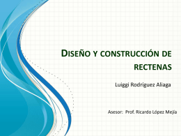 Diseño y construcción de rectenas