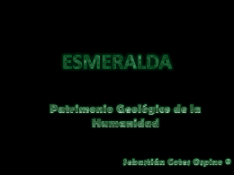 Diapositiva 1 - yacimientos minerales