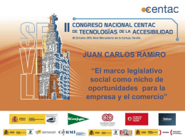 D. Juan Carlos Ramiro Iglesias, Experto en
