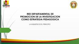 diapositivas de investigacion como estrategia